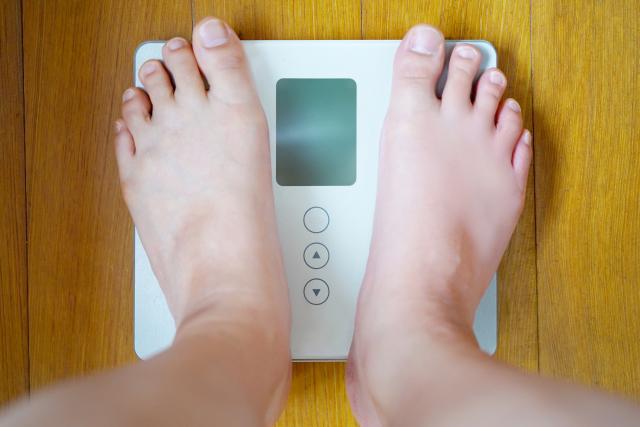 体重の増加